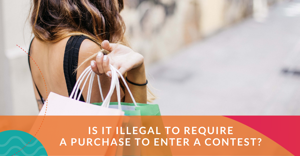 is it illegal to require a purchase to enter a contest?