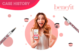 """Win with Benefit Cosmetics"": the Instagram prize draw"